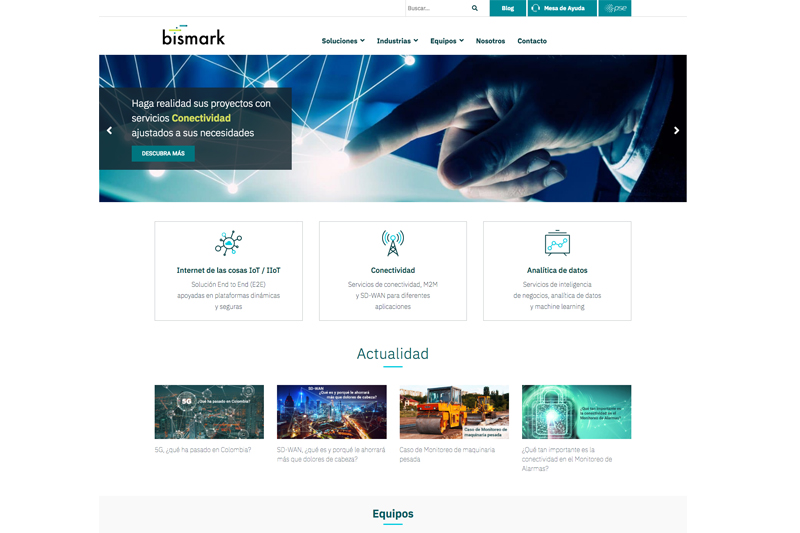 bismark web