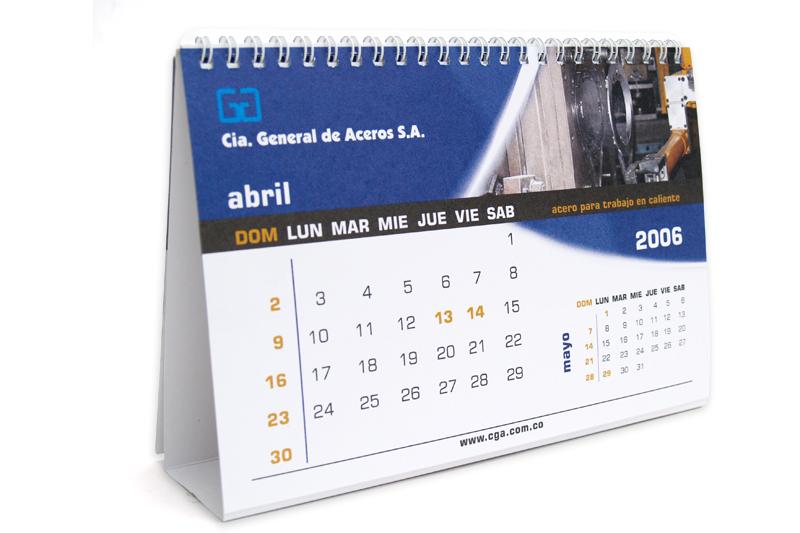 cga calendario