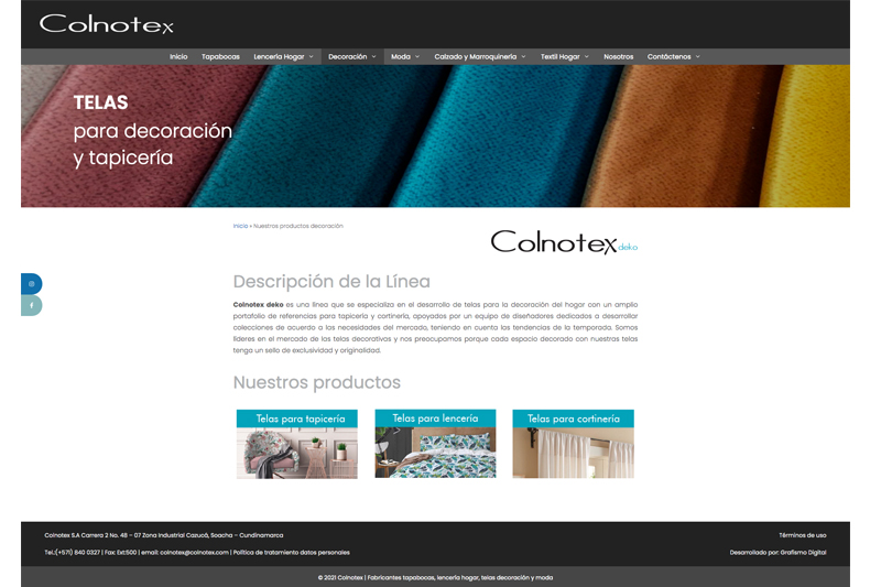 colnotex web
