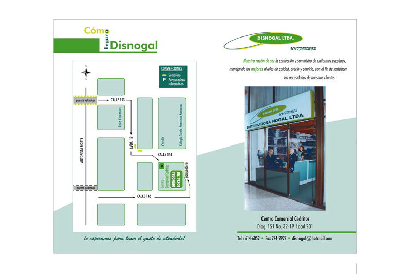 disnogal brochure