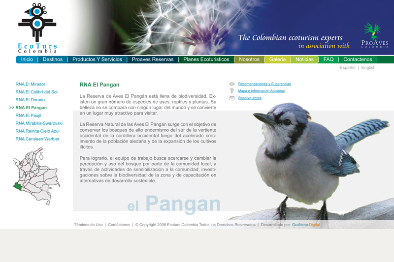 ecoturs web