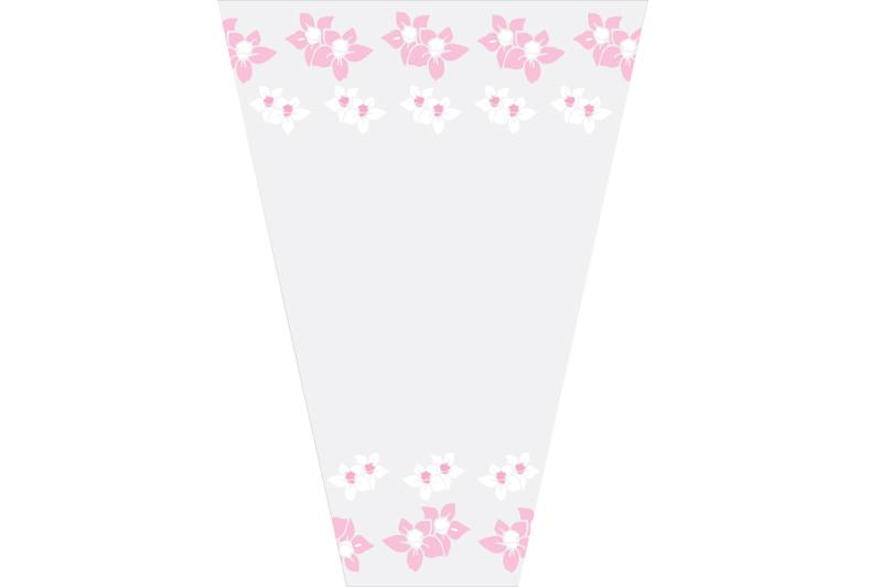 empaque para flor rosas
