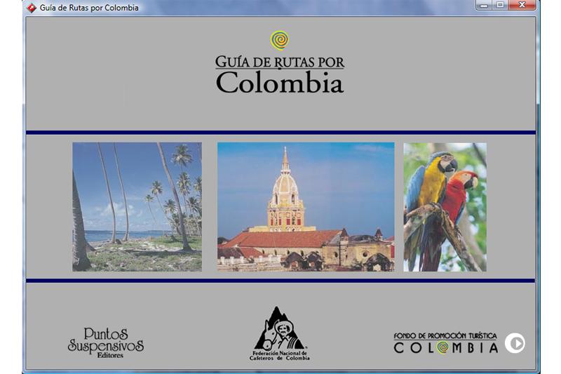 guia de rutas por colombia multimedia