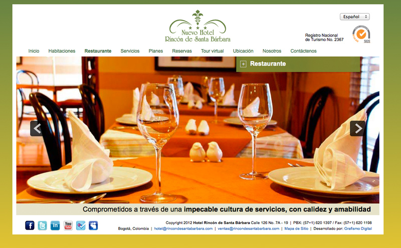 hotel santa barbara web