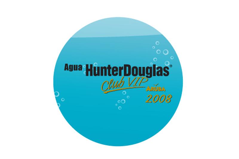hunter douglas club vip cd label