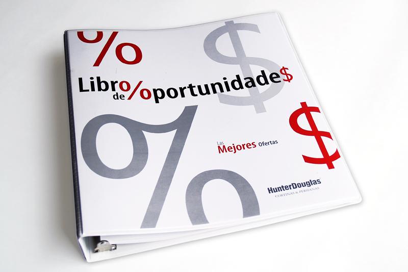 hunter douglas libro de oportunidades portada