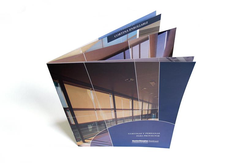 hunter douglas brochure cortinas para proyectos