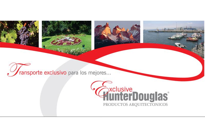hunter douglas evento exclusive