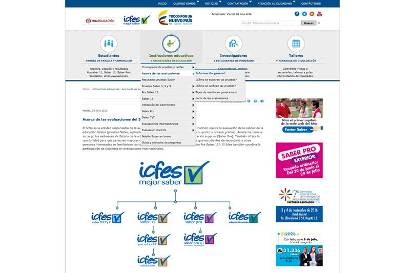 Icfes web