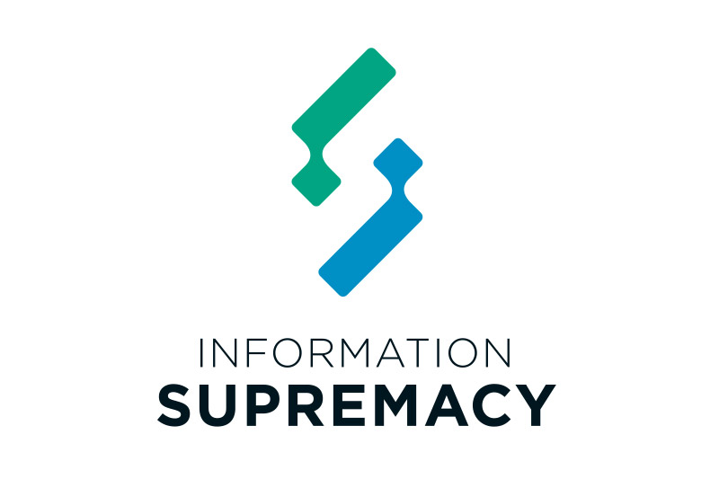 information supremacy logo vertical