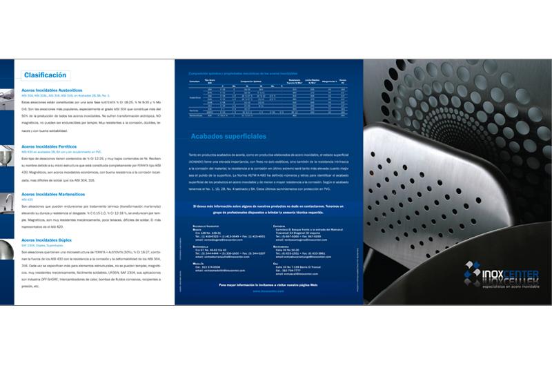 inoxcenter brochure exterior