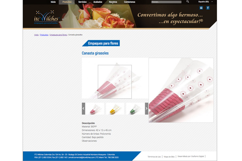 itc wilches web