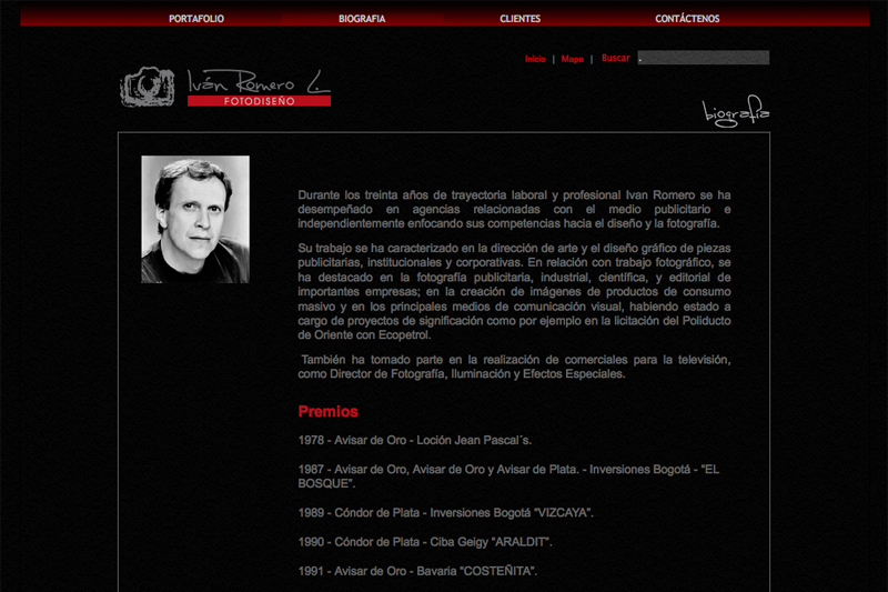 ivan romero web