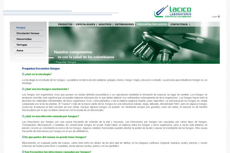 lacico web