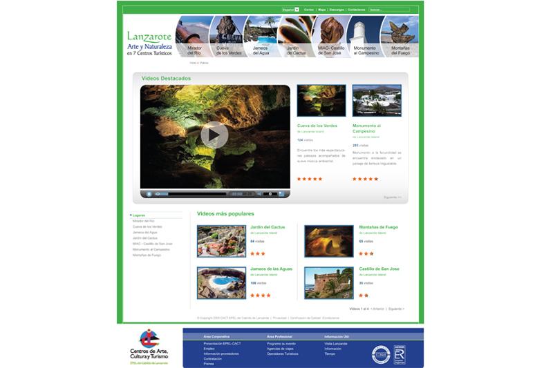 Lanzarote web