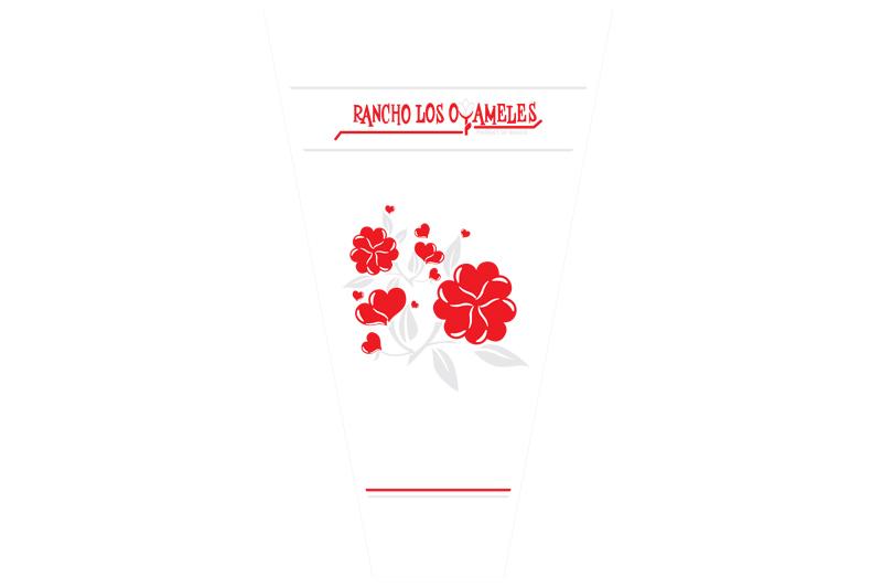 empaque para flor oyameles