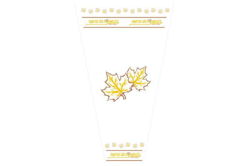 empaque para flor oyameles otoño