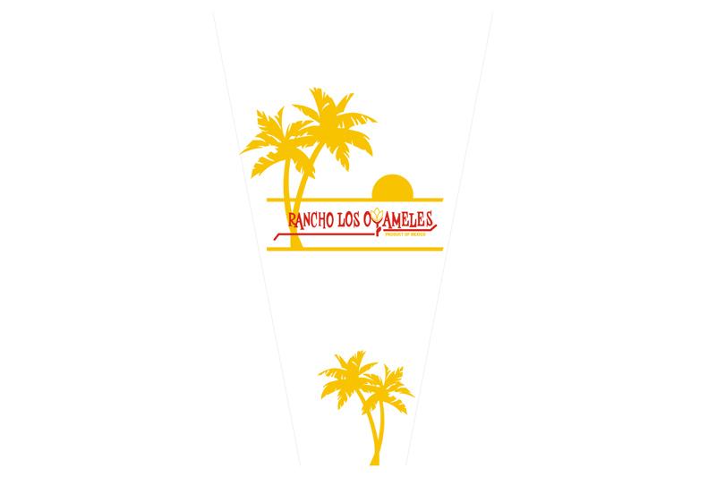 empaque para flor oyameles palmeras