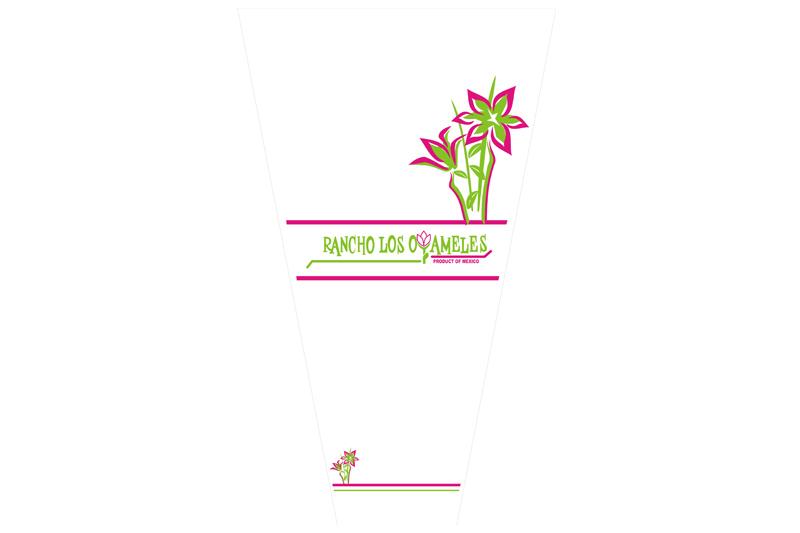 empaque para flor oyameles plantas