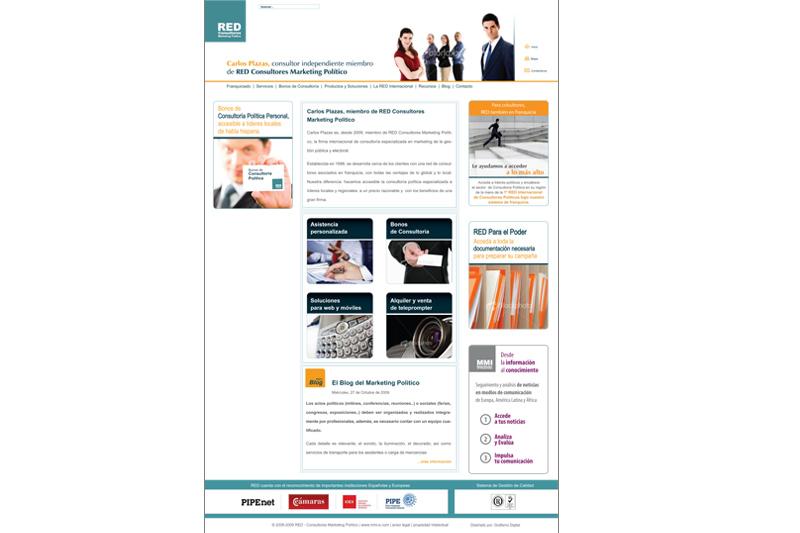 red consultores web