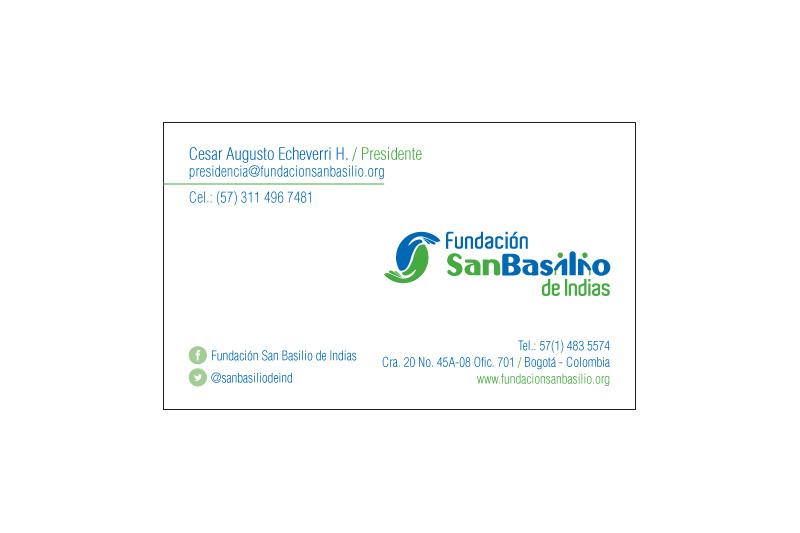 fundacion san basilio tarjeta