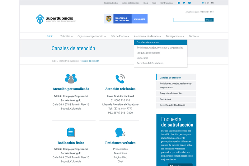 supersubsidio web