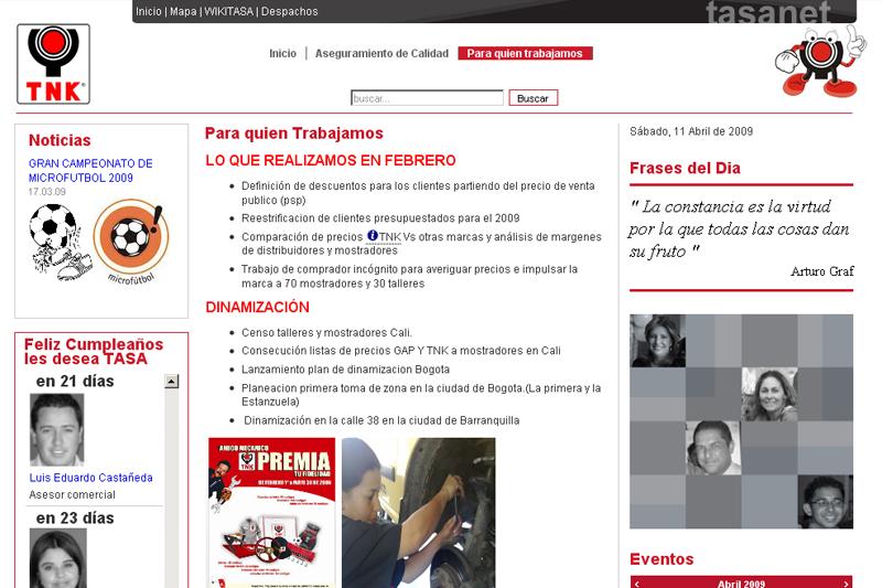 TNK intranet