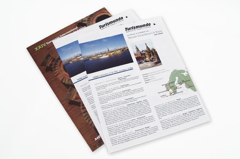 Turismundo brochure interior