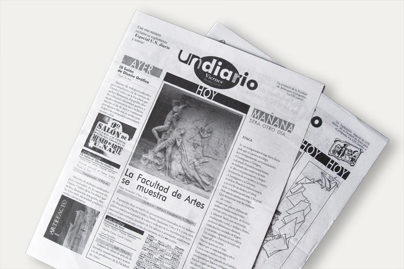 un diario periódico