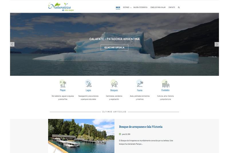 naturaleza viajes web