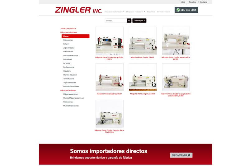 zingler web