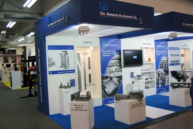 cga stand feria expoindustrial
