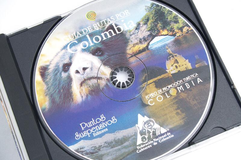 guía de rutas por colombia cd