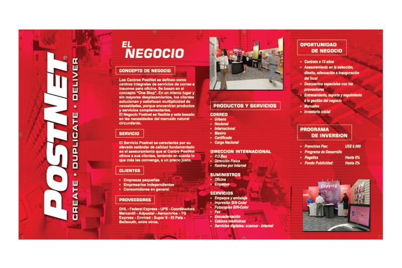 postnet brochure exterior
