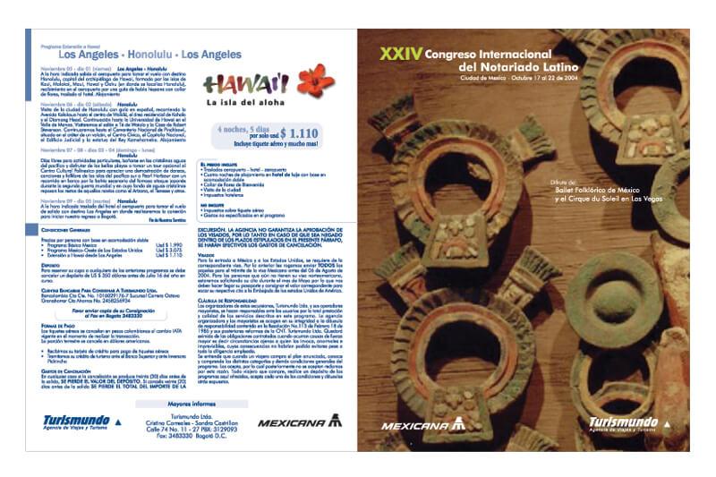 Turismundo brochure